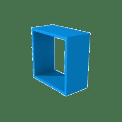 San Block Window Frame - Blue