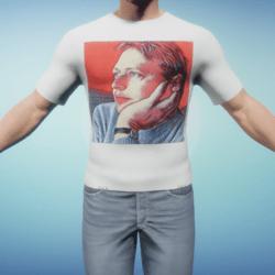 FREE Ryan Schultz Fan Club T-Shirt for Male Avatars