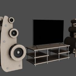 Set Speaker TV