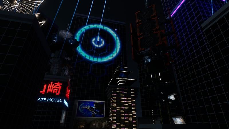 Cyberpunk Lounge & Alley Ways