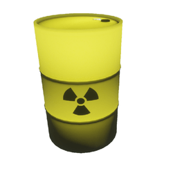 Radioactive barrel (clean)