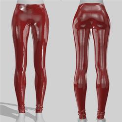 Leggings Maddy Vinyl Red