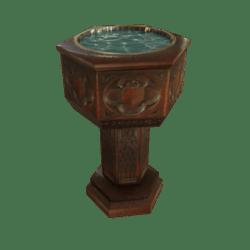 Goth Baptisimal Font