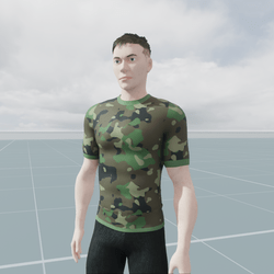 Military Jungle Camouflage T-Shirt