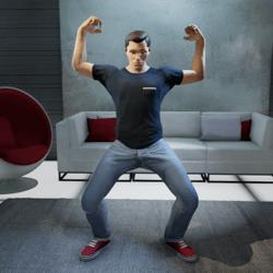 Flex Muscles Gesture (Male)