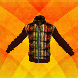 Down-sweater-jacket Colored