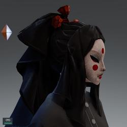 Ghisha mask