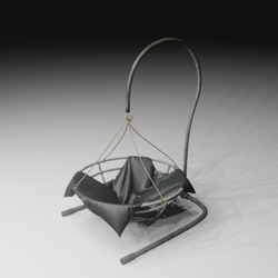 Iron Rocking Chair