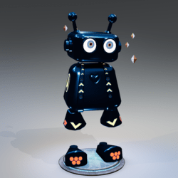 JOJO ROBOT V3 BOY BLUE