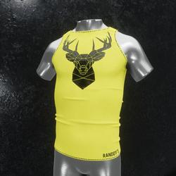 Sleeveless Shirt deer yellow