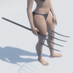 Pitchfork Female