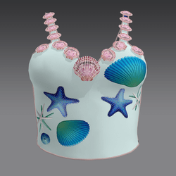 Tanktop with Shells