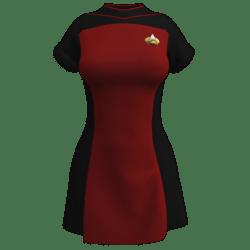 Star Trek - TNG Season 1&2  - Skant Officer Uniform (unisex) (Roleplay Fanwear)