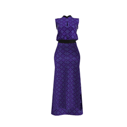 Amethyst  Chinese Style  Women Formal Dress - Avatar 2.0-compatible-