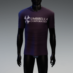 Umbrella Corporation T-Shirt Purple