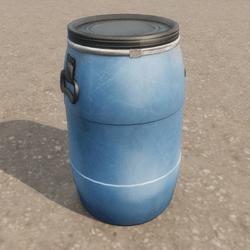 Blue Plastic Industrial Barrel / Keg