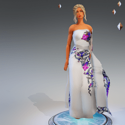Sari Gown #3