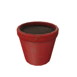 Flower Pot - Red