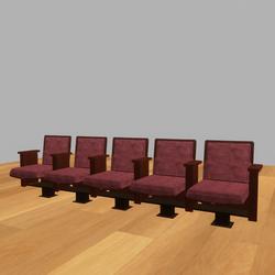 Theatre Seat 5 Bank