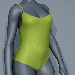Body Swimsuit - Green