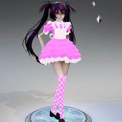 Pink Sweet Girl Avatar