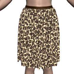 A Marvelous Leopard Skirt