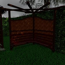 Pergola Bamboo Weave-Proj01