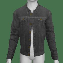 AV2 - Male Jeans Jacket