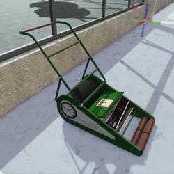 Vintage Lawn Mower (TM)