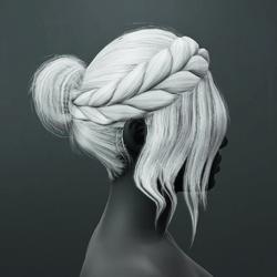 Kim Hair - White