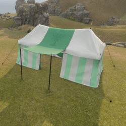 Large Tent Green