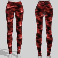 Leggings Maddy Galaxy Red