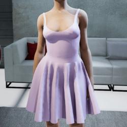 Suit. Body skirt