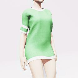 Green Baggy Shirt