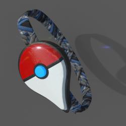 Poké-Go Plus Wristband (With Glow)