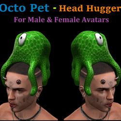 Octo Pet: Head Hugger