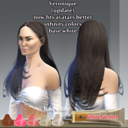 veronique udate-infinity colors-now fits better to the avatars !