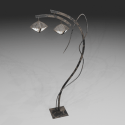 Lamp post support