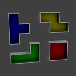 Shelf Tetris