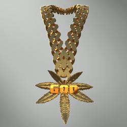 WeedGod Chain 24k Gold