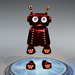 JOJO ROBOT V3  BOY  RED