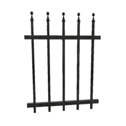 Wrought Iron Fence - 1m