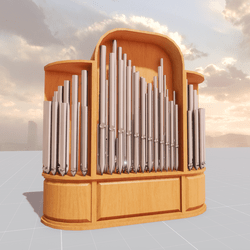 Organ Pipe Cabinet (non-scripted)
