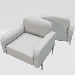 Hero Lounge Chair White