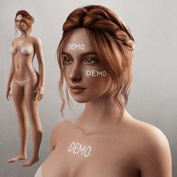 Alina - Avatar - Freckles (Demo)