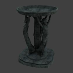 Three Marie fountains