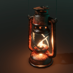 Polygon ~ Vintage Lantern