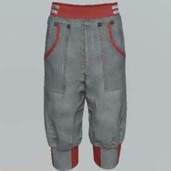Pants short unisex DGy