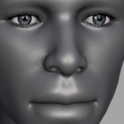 Men Eyes - Grey