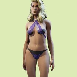 Lady J Purple
